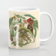 Botanical English Bulldog Mug