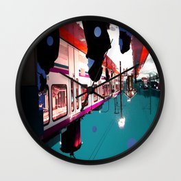We Remain Undefinable. Wall Clock