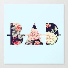 B∆D | Floral Canvas Print