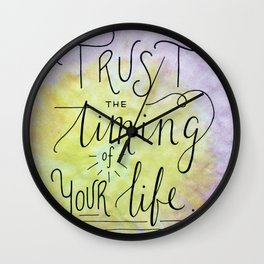 Trust The Timing Wall Clock