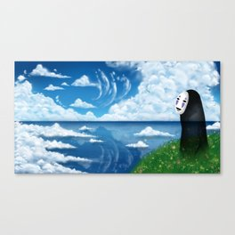Enjoying the veiw Canvas Print