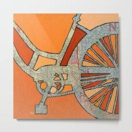 Bike Atlanta  Metal Print