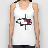 mustang Tank Tops featuring 2013 Mustang by Amador