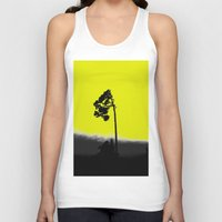 lonely Tank Tops featuring lonely  by Nikos