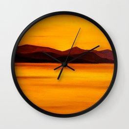 Koh Samui Sunset Wall Clock