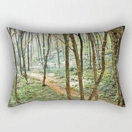 autumn forest 2 Rectangular Pillow