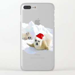 Save Me | Christmas Spirit Clear iPhone Case