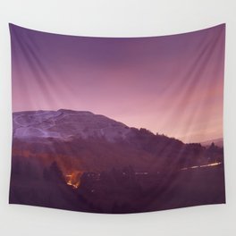 Cold Winters Night Wall Tapestry