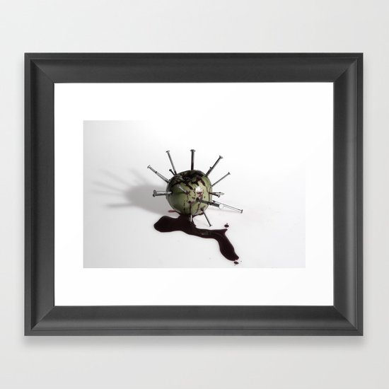 Sin Framed Art Print