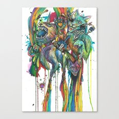 My Favorite Zelda Weapons Canvas Print