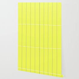 Yellow & Grey Striped pattern Wallpaper