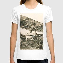Glenn Curtiss in His Bi-Plane T-shirt