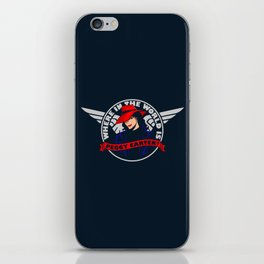 Where in the World is Peggy Carter? iPhone Skin