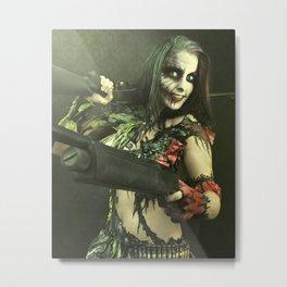 Harley Quinn/Joker  Metal Print