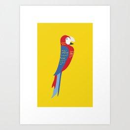 Parrot Love Art Print
