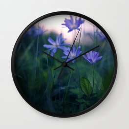 End of the Day. Wall Clock