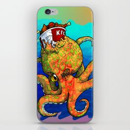The Octopus and the Chicken iPhone Skin