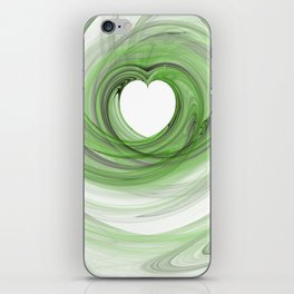 Valentine's Fractal V - Light iPhone Skin