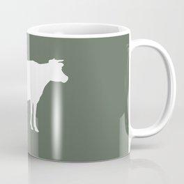 Cow: Green Coffee Mug