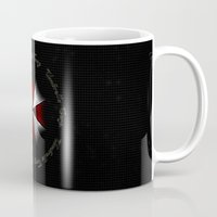 resident evil Mugs featuring RESIDENT EVIL - UMBRELLA by Raisya
