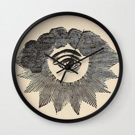 Vintage Magic Eye Wall Clock