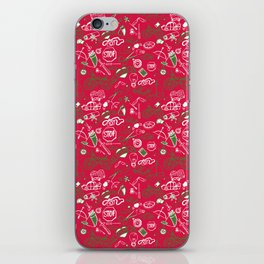Traditional Christmas Medley - by Jezli Pacheco iPhone Skin