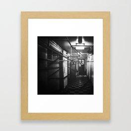 System Framed Art Print