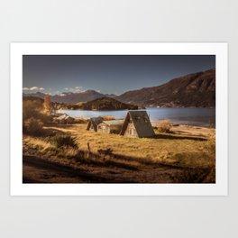 Carretera Austral Art Print
