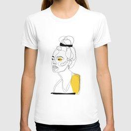 Yellow Sketch T-shirt
