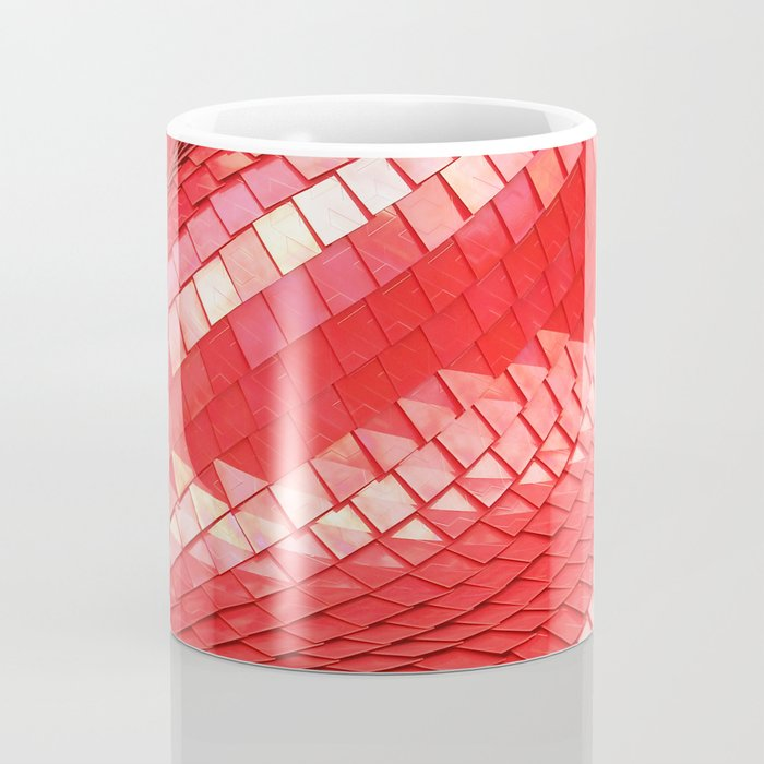 Red dragon skin Coffee Mug