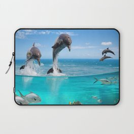 Marine Wildlife Laptop Sleeve