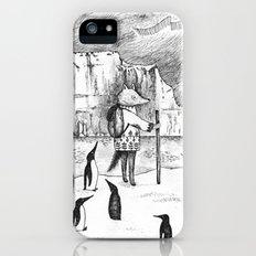 Antarctic explorer iPhone (5, 5s) Slim Case