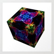 The Cube 8 Art Print