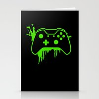 xbox Stationery Cards featuring Xbox One Controller by meganjamo