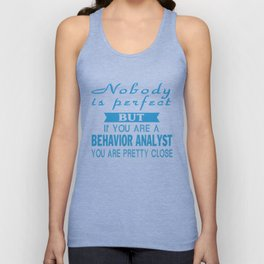 Behavior Analyst Unisex Tank Top