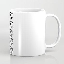 Rows of Flowers Coffee Mug