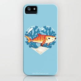CHOMP the Tiger Shark iPhone Case