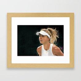 Elina Svitolina Framed Art Print
