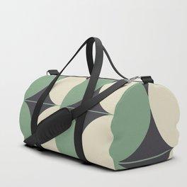 Circle Design Duffle Bag