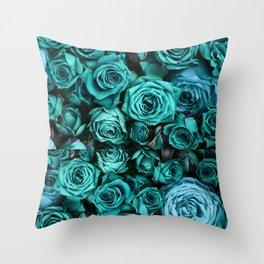 Le Vie En Rose Throw Pillow