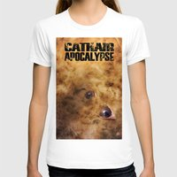 book cover T-shirts featuring Cathair Apocalypse Book 1 Cover by Cathair Apocalypse