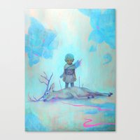 robin hood Canvas Prints featuring Robin Hood by ZachNien