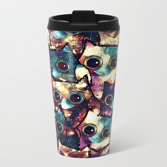 owl-152 Metal Travel Mug