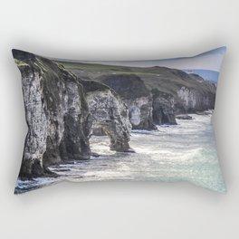Travel to Ireland: A Castle View Rectangular Pillow