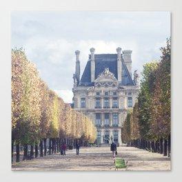 Paris Tuleries Canvas Print