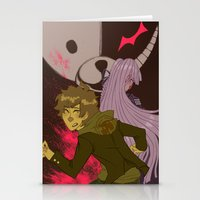 dangan ronpa Stationery Cards featuring mr monokumas extracurricular lesson by Cori Walters