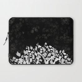 The Zen Tree - White on Black Laptop Sleeve
