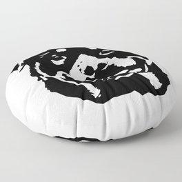 Rottweiler Dog Floor Pillow