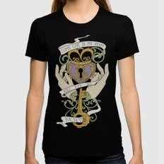 Come Live In My Heart Womens Fitted Tee Black LARGE