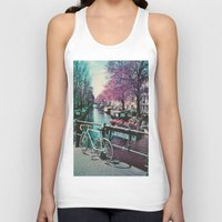 amsterdam Tank Tops featuring amsterdam by Richard PJ Lambert